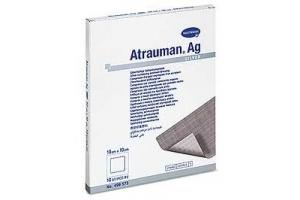 ATRAUMAN AG - Повязки с серебром (стерильные): 10 х 10 см; 10 шт.