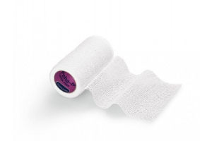 PEHA-HAFT: самофиксирующийся бинт 4 м х 10 см, белый (не содержит латекс)