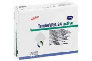 TENDERWET 24 - Суперабсорбирующие повязки; 7,5 х 7,5см; 10 шт.