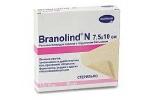 BRANOLIND N  - Повязки с перуанским бальзамом (стерильные): 7,5 х 10 см; 30 шт.