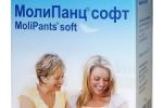 MoliPants soft/МолиПанц софт - удлиненные штанишки для фиксации прокладок L