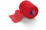 PEHA-HAFT:  самофиксирующийся бинт 4 м х 8 см, красный (не содержит латекс)